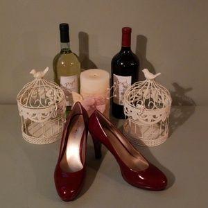 Bandolino wine red 4in pumps